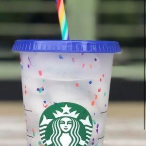Confetti Starbucks cups